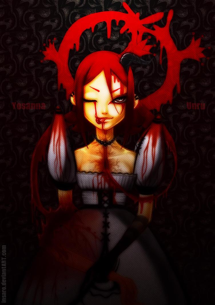Yosanna Unru blood queen by Insaro