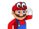 Drawn Mario