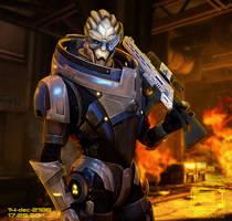 Commander Shepard's Personal Files: Garrus
