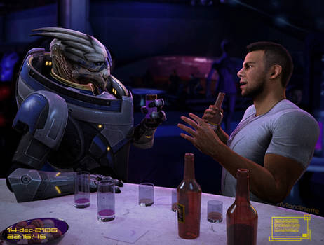 Commander Shepard's Personal Files: These Two