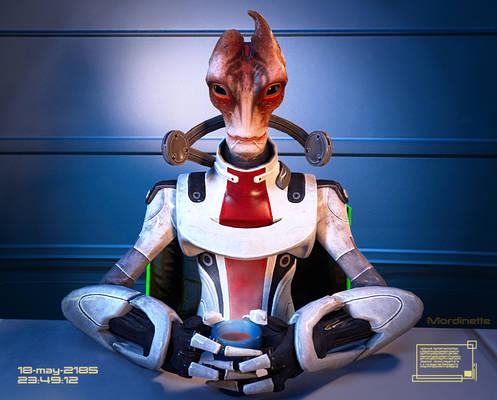 Commander Shepard's Personal Files: Mordin