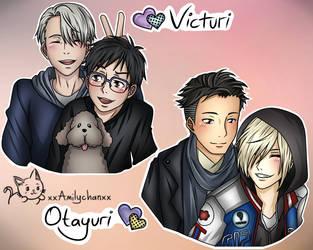 Yuri On Ice [Victuri and Otayuri] by xxAmilychanxx