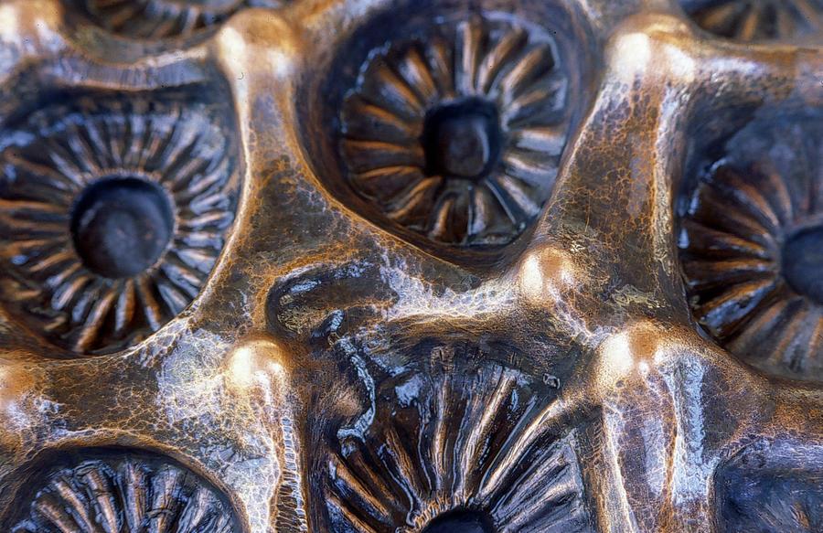 Repousse wall sculpture detail by jeremymaronpot