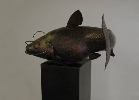 Catfish Sculpture
