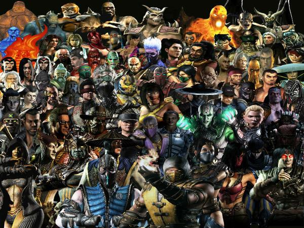 Every Mortal Kombat Character By Pissedoffmkfan1995 On