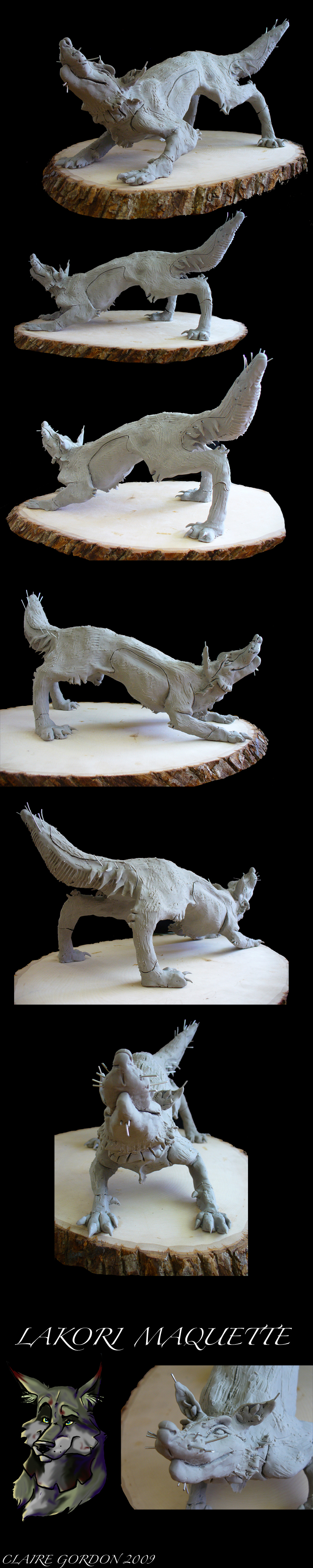 Lakori Maquette by Clairictures
