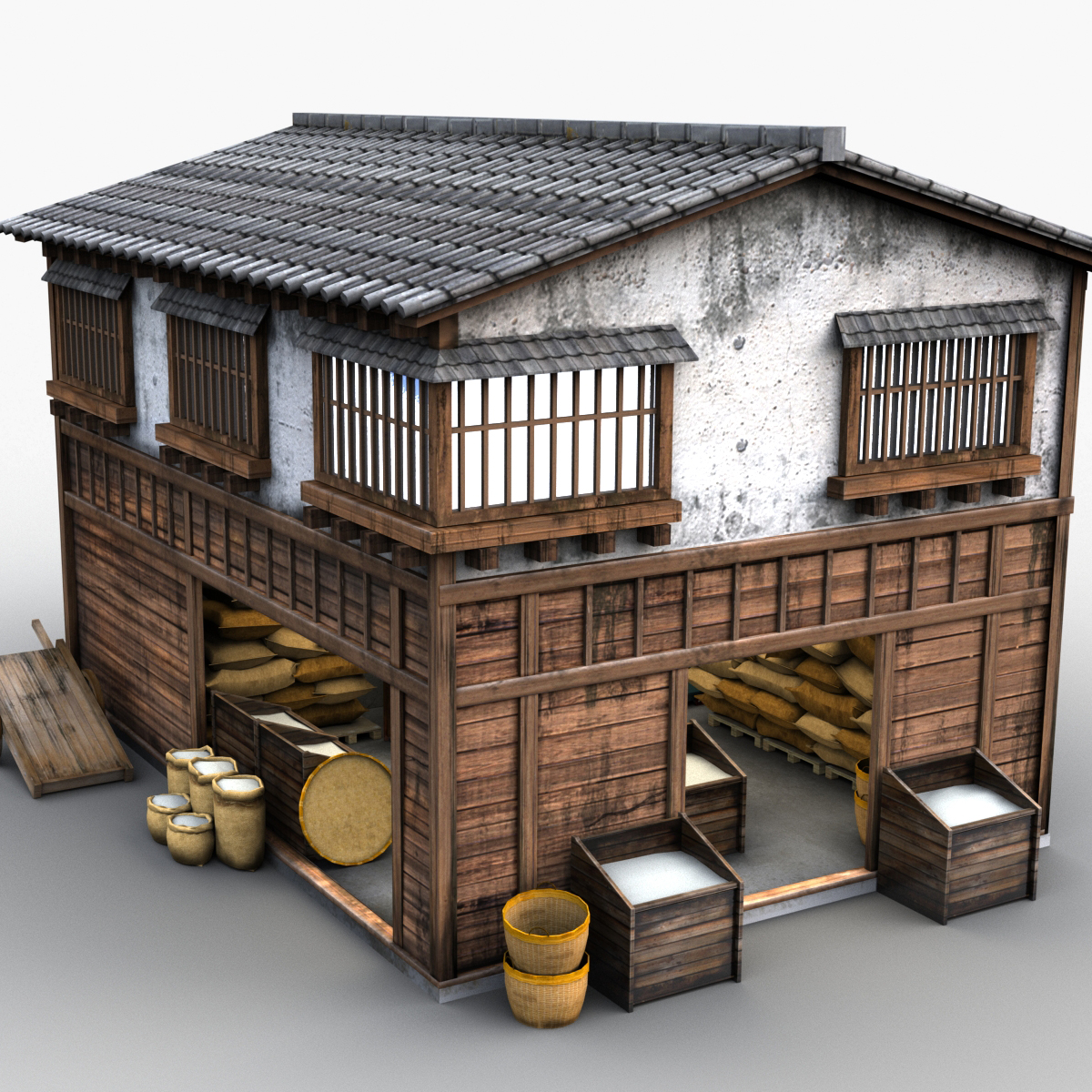 Japanese Style House 00253d Model By Tomoplace On Deviantart