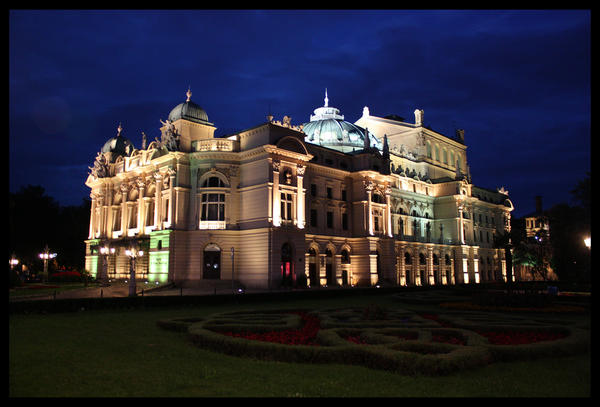 Cracow opera house