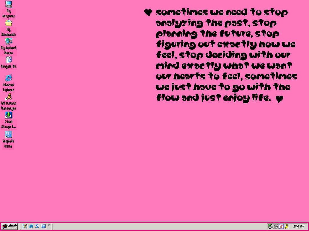 PinkScreensh0t by missyssim