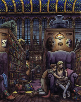 The Library In Color