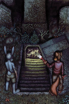 The Tomb: Cover of Issue 3