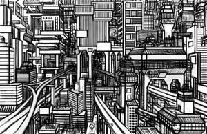 City Concept by Benjamin-the-Fox