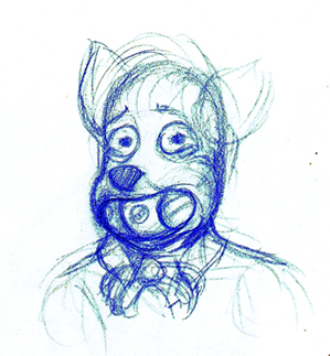 Trip Drawings: HAHAHA WUT? by Benjamin-the-Fox