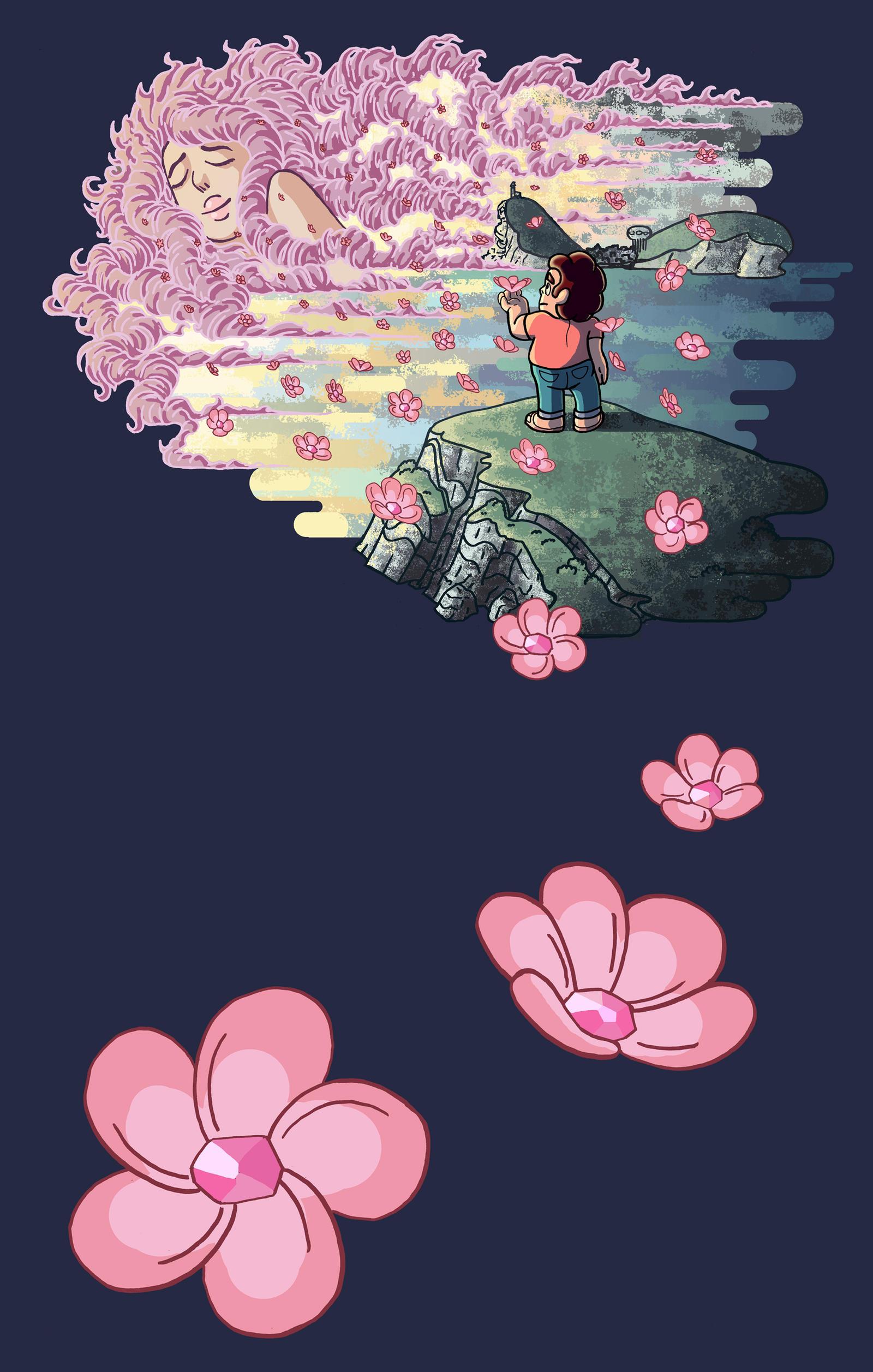Steven Universe T-Shirt Design. by Benjamin-the-Fox