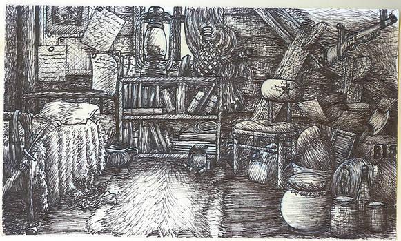 Benjamin's room: Ink