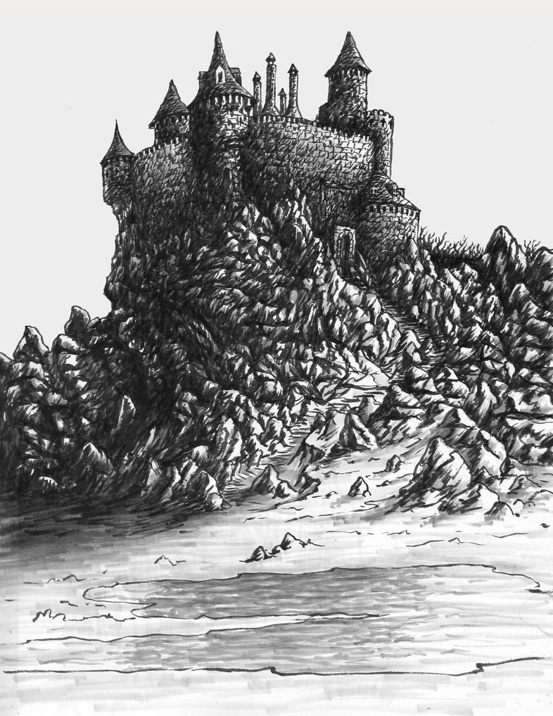 Black Rock Fortress by Benjamin-the-Fox