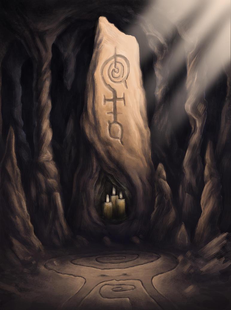 Menhir by Benjamin-the-Fox
