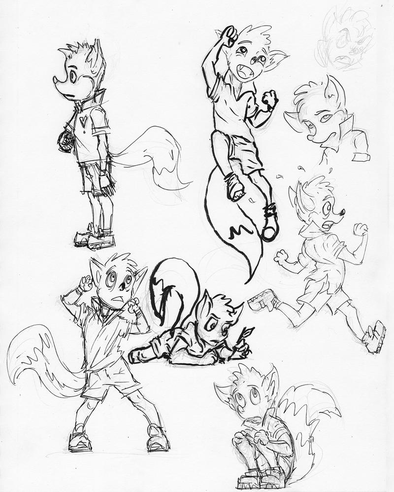 Sketches. by Benjamin-the-Fox