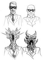 Agents Mutated 2 by Benjamin-the-Fox