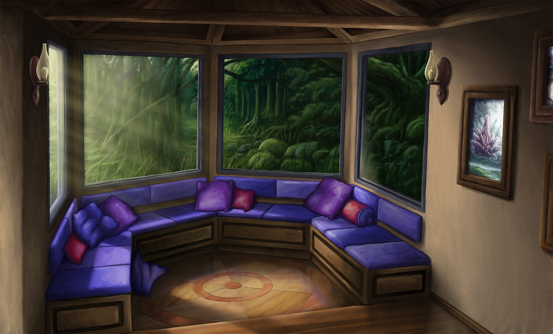 Sunroom Complete by Benjamin-the-Fox