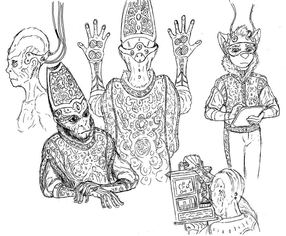 Ceremonial garb by Benjamin-the-Fox