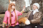 Spice and Wolf-Dont touch a Wolfs Tail