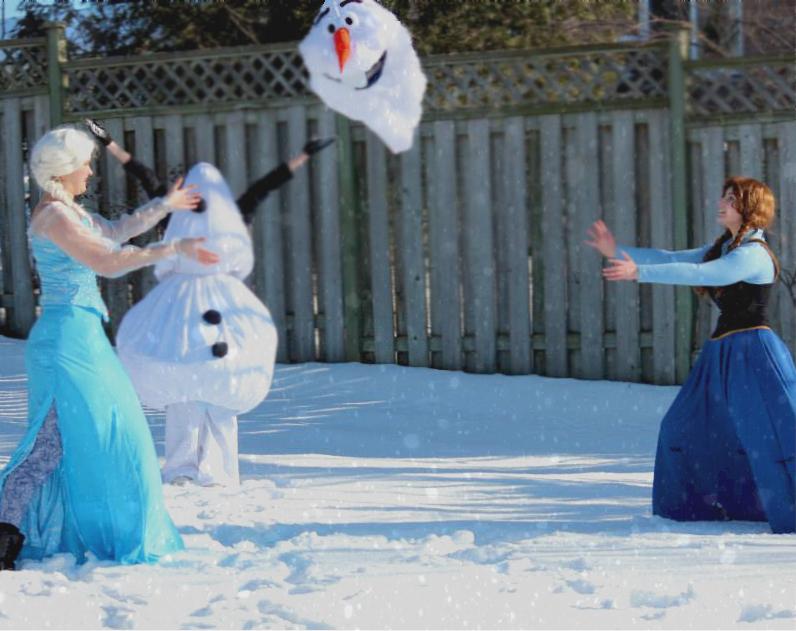 Do you wanna build a snowman? by missy2laina