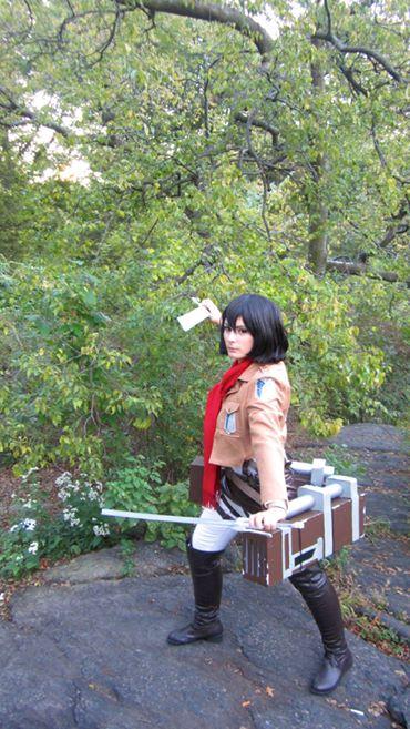 Mikasa Ackerman by missy2laina