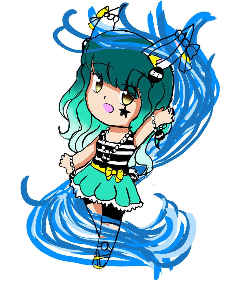 Amelia Chibi Tsumami contest entry by artycomicfangirl