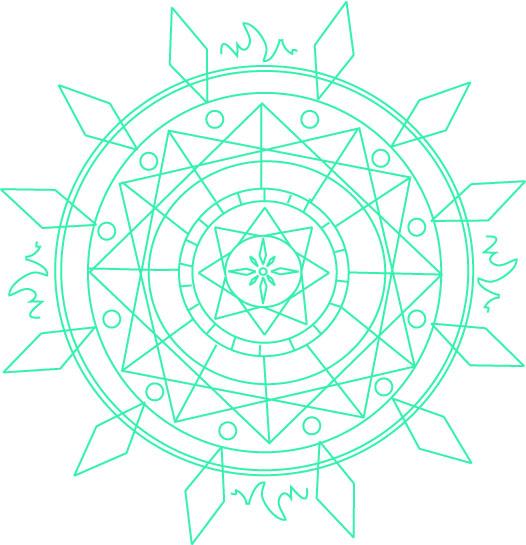 Fairy tail oc Marian's magic circle by artycomicfangirl on ...