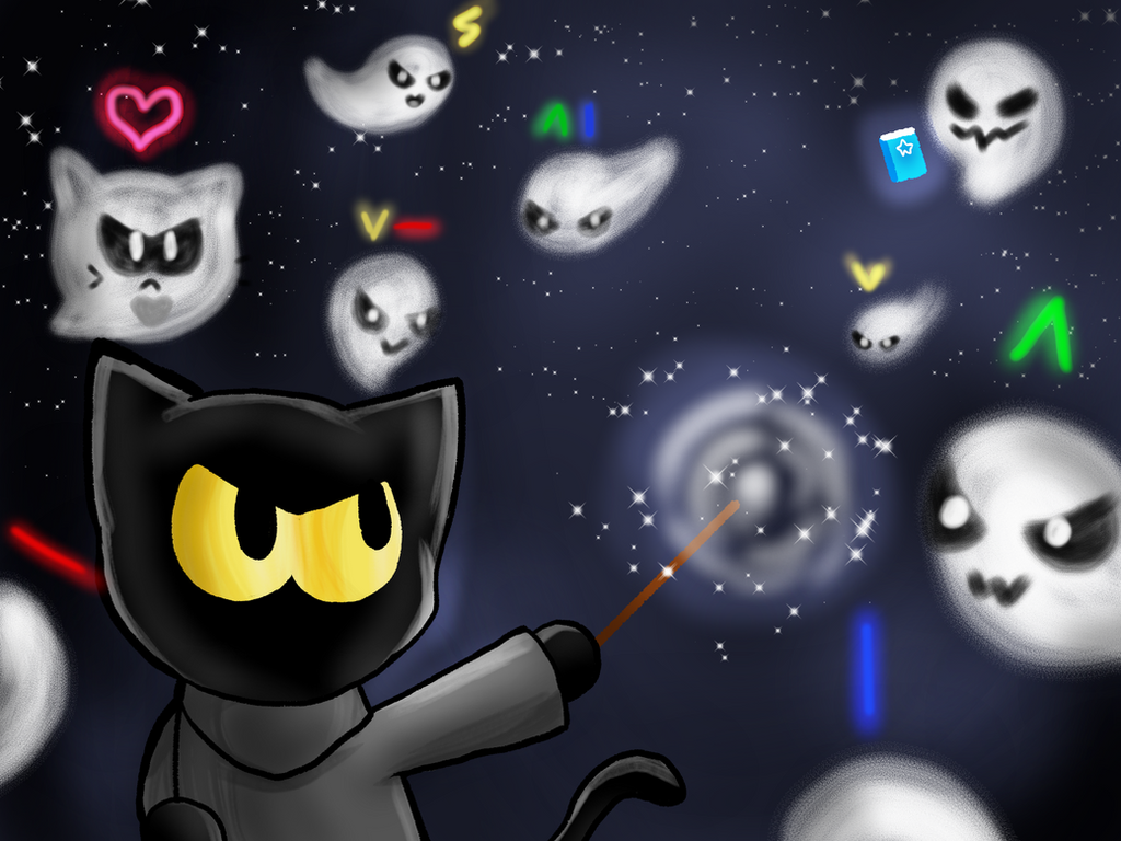 Download Wallpaper Halloween Magic - happy_halloween__magic_cat_academy_by_artycomicfangirl-dan170n  Image_154277.png