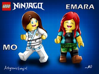 collab ninjago ocs emara and mo by arty icfangirl dbcob50 250t