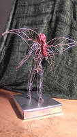 Wire fairy back