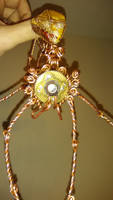 Jeweled spider  reverse.
