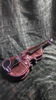 Wire violin