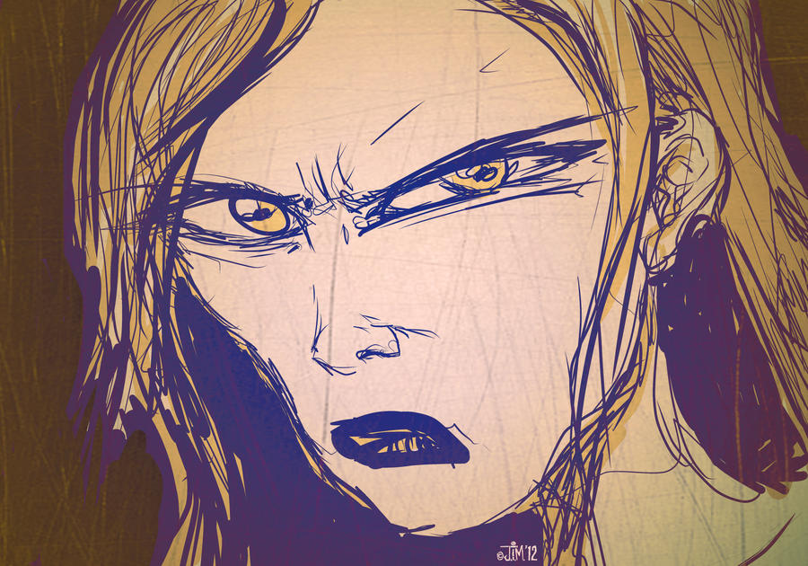 It is an image of Gorgeous Angry Girl Drawing