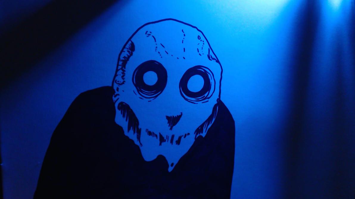 Blue Light Guy by jimathers