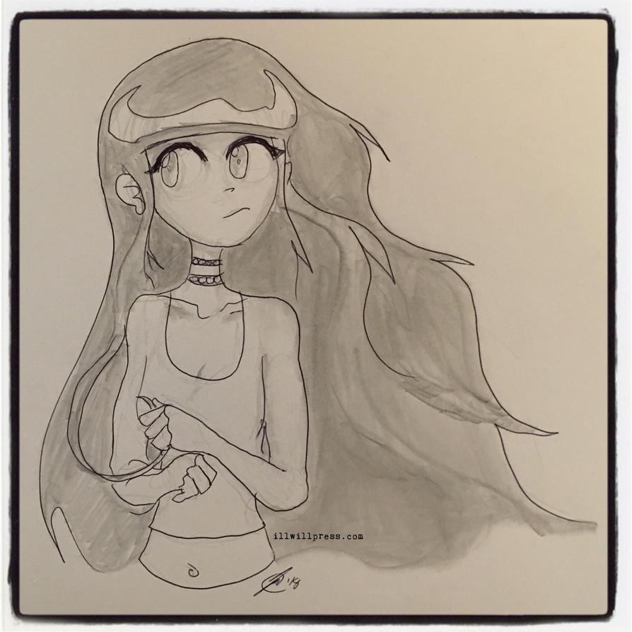 Pauline Doodle (Pencils!) by jimathers