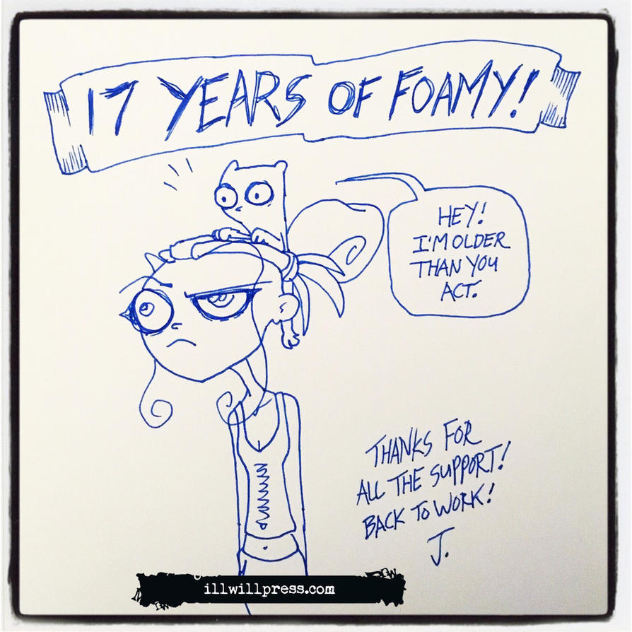 17 Years! by jimathers
