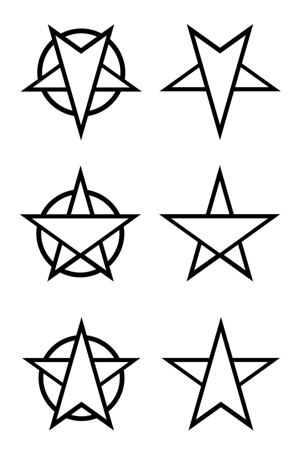 pentagram tattoo designs by my god issa girl on deviantart. Black Bedroom Furniture Sets. Home Design Ideas