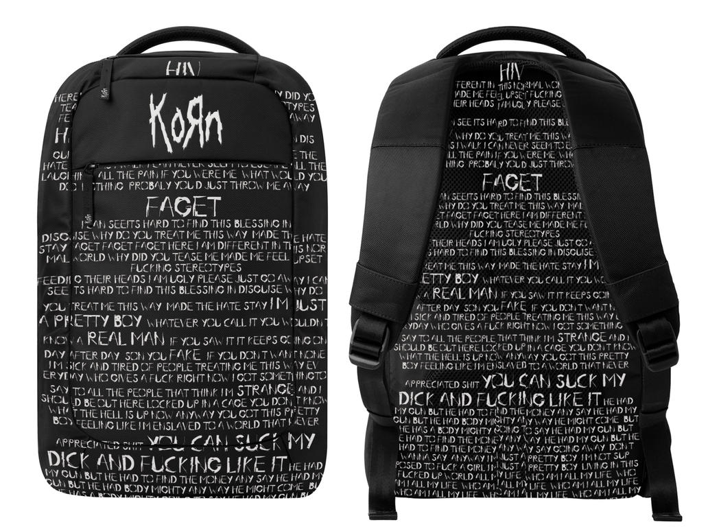KoRn Faget Backpack by My-God-Issa-Girl