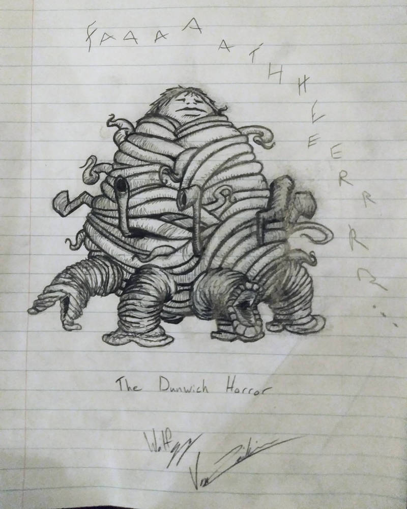 The Dunwich Horror by My-God-Issa-Girl
