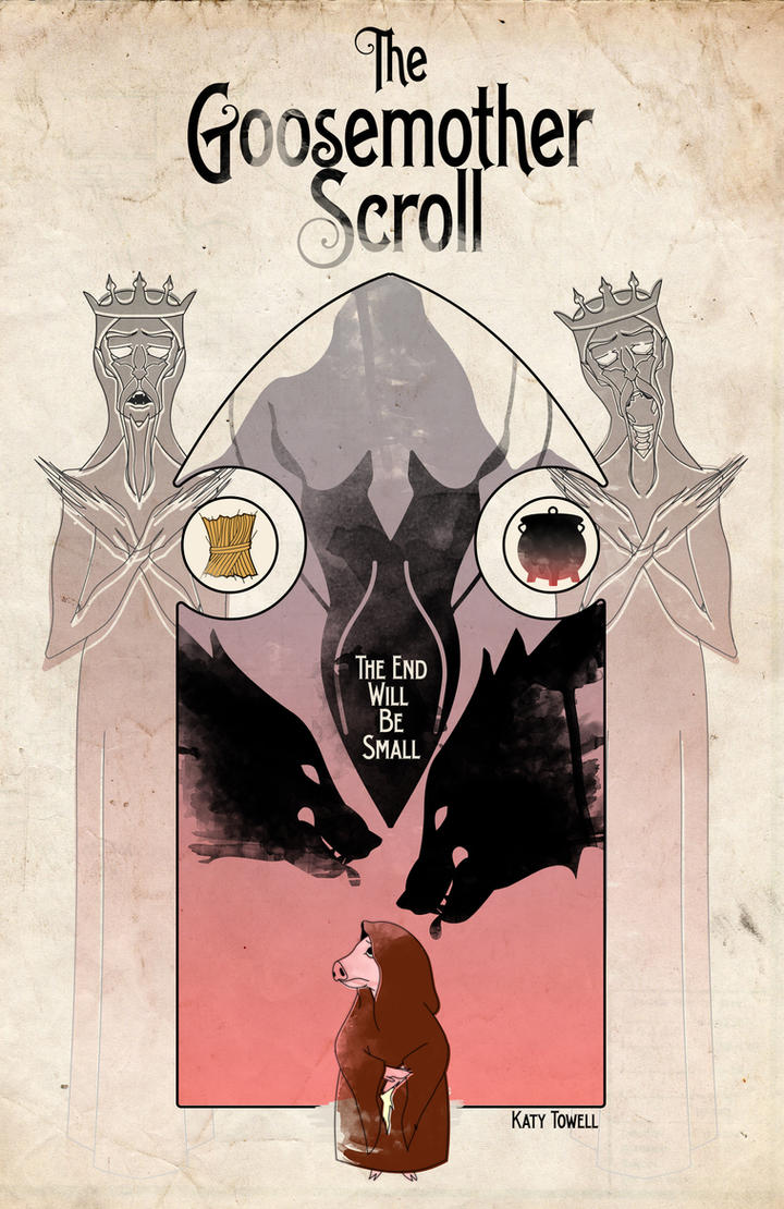The Goosemother Scroll Cover Art by katytowell