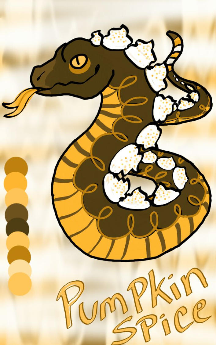 Pumpkin Spice Boa -- Closed by Witch-Doctais46