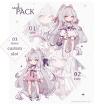 [closed] Auction   Adoptable 22-24 by Shinenee
