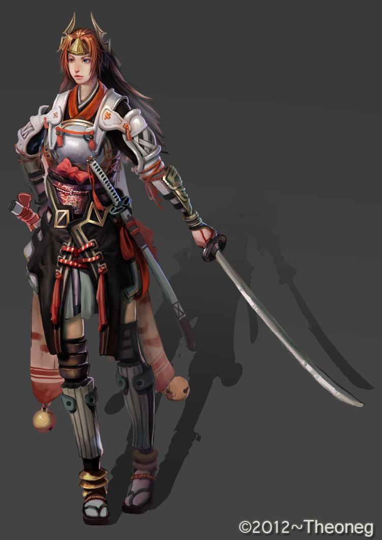 samurai by THEONEG