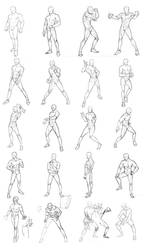male poses chart 01
