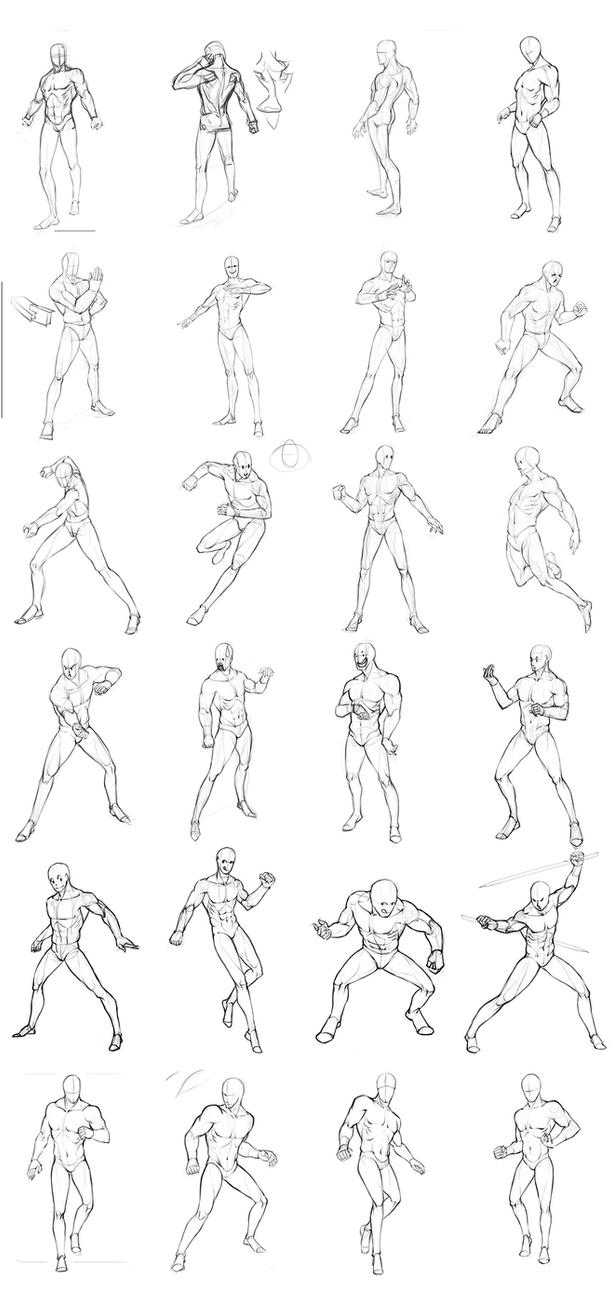 This is a picture of Genius Male Sitting Poses Drawing