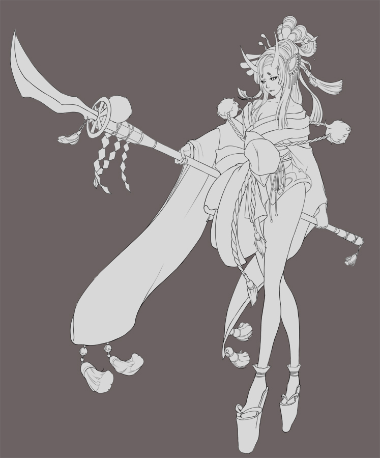 Lineart-Priest by THEONEG