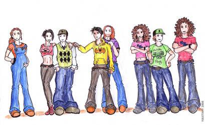 Fall Out Boy gender switch AU